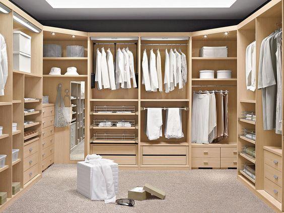 Dise os de closets modernos 1 curso de organizacion for Disenos de closets modernos