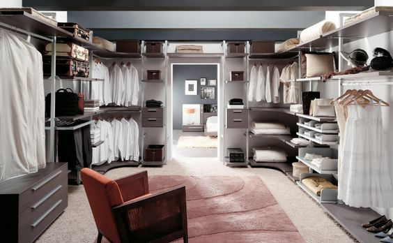 Dise os de closets modernos 11 curso de organizacion for Diseno de interiores closets modernos