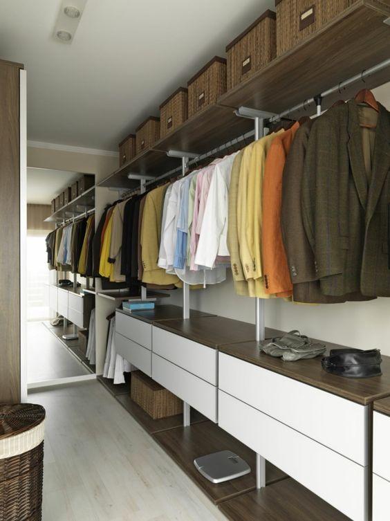 Dise os de closets modernos 24 curso de organizacion for Diseno de interiores closets modernos
