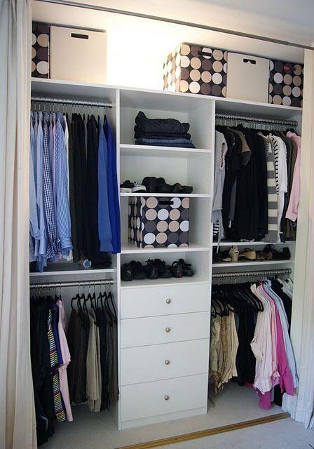 Dise os de closets peque os 10 curso de organizacion for Disenos para closets pequenos