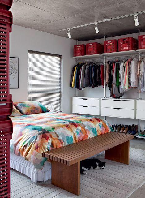 Dise os de closets peque os 13 curso de organizacion del hogar y decoracion de interiores - Decoracion de interiores cursos ...