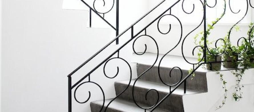 Diseños de escaleras de herreria