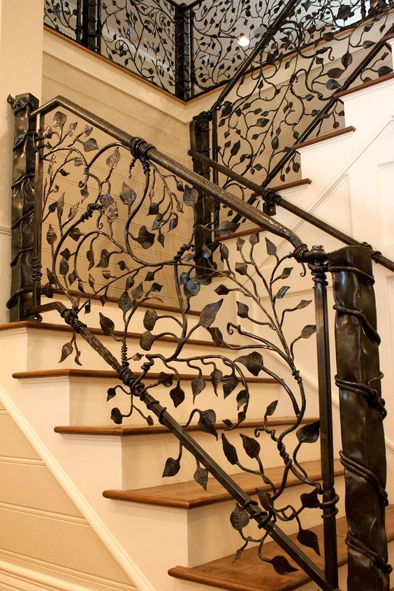 Dise os de escaleras de herreria 11 curso de Escaleras herreria para interiores