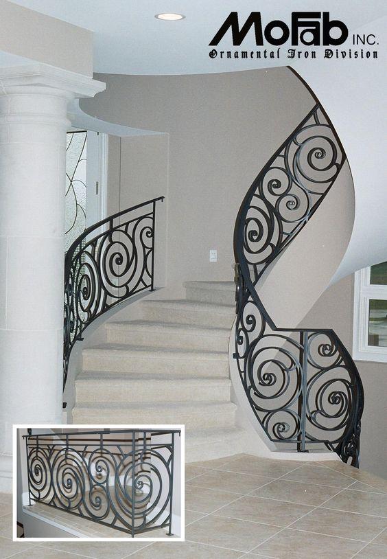 Dise os de escaleras de herreria 14 curso de - Disenos de escaleras interiores fotos ...
