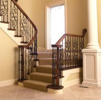 Dise os de escaleras de herreria 5 curso de Escaleras herreria para interiores