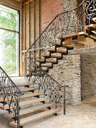 Dise os de escaleras de herreria 8 curso de - Disenos de escaleras interiores fotos ...