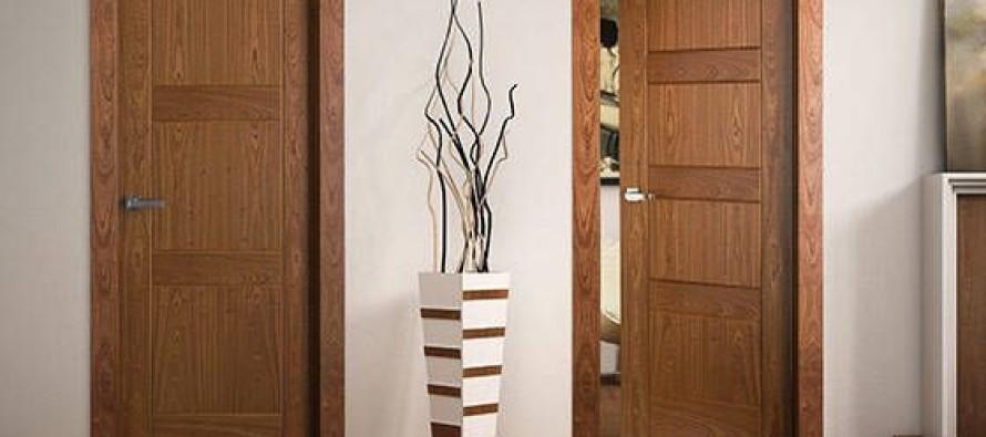 Dise os de puertas de madera para interiores casa dise o for Puertas para casa interior