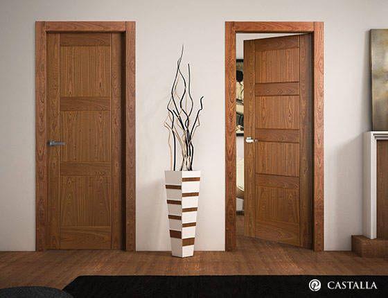 Dise os de puertas para interiores curso de organizacion for Puertas insonorizadas para el hogar