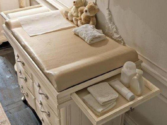 Ideas de cambiadores para bebes curso de organizacion del hogar y decoracion de interiores - Muebles cambiadores para bebes ...