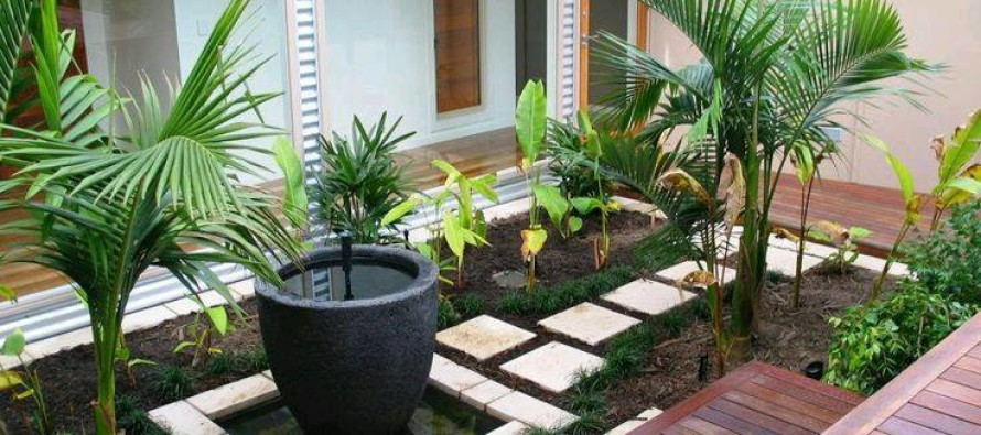 Ideas de jardines y patios interiores curso de for Decoracion de jardines interiores pequenos