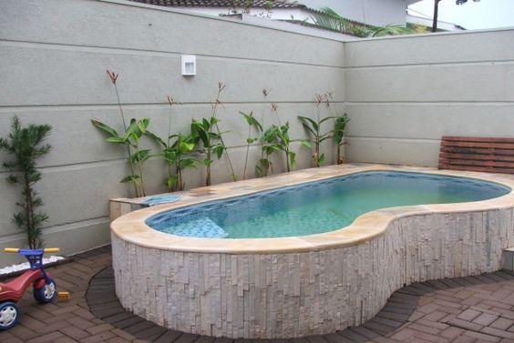 Hogar y jardin ideas para piscinas peque as for Ideas para piscinas