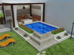Ideas de piscinas peque as en casa planlife edificaciones for Ladrillos para piletas