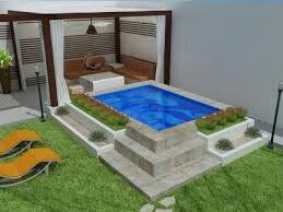 Ideas de piscinas peque as 18 curso de organizacion - Piscinas interiores pequenas ...