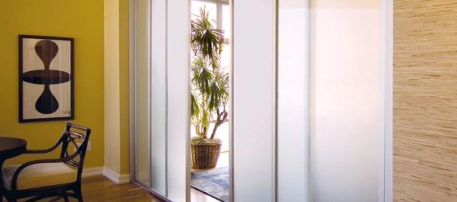 Ideas de puertas corredizas con sandblast o arenado