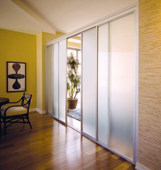 Ideas de puertas corredizas con sandblast o arenado for Ideas de puertas corredizas