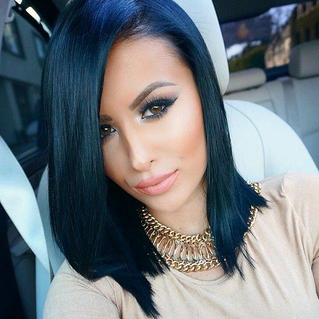 Ideas de tonos de cabello negro azulado 26 curso de organizacion del hogar y decoracion de - Cuanto dura un bano de color ...