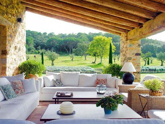 Ideas para casas de campo curso de organizacion del hogar y decoracion de interiores - Ideas casas de campo ...