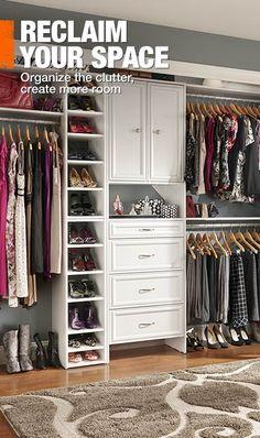 Ideas para closet abiertos 22 curso de organizacion for Closets abiertos pequenos