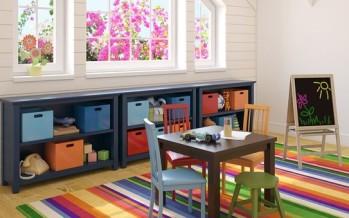 Ideas para decorar cuarto de juegos infantil