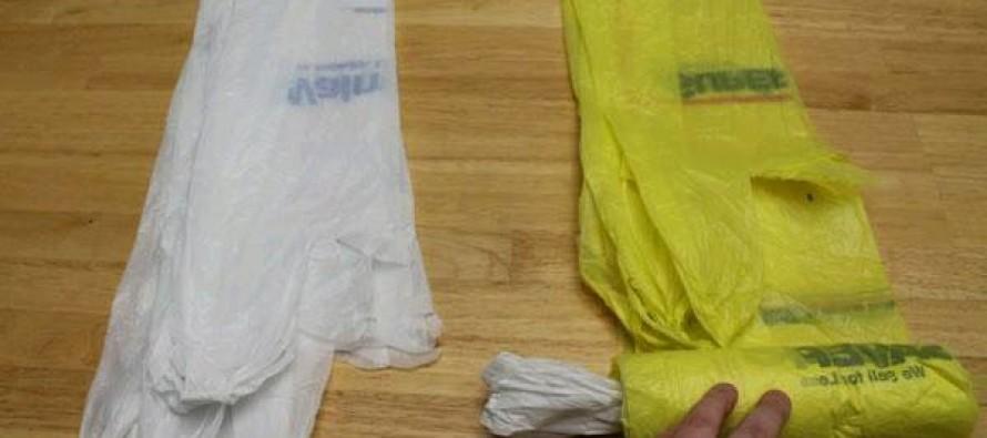 Ideas para guardar bolsas de plastico