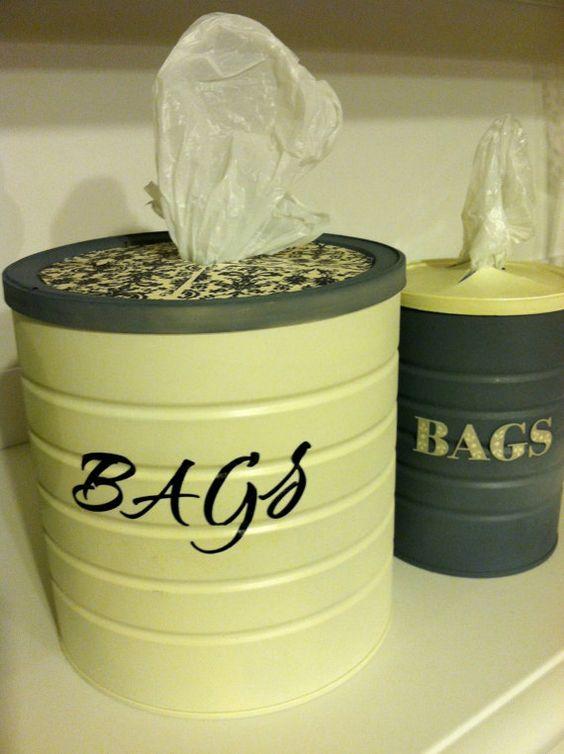 Ideas para guardar bolsas de plastico 20 curso de - Guardar bolsas plastico ...
