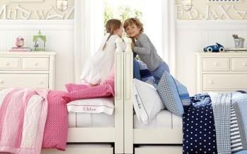 Ideas para habitación compartida de niña y niño