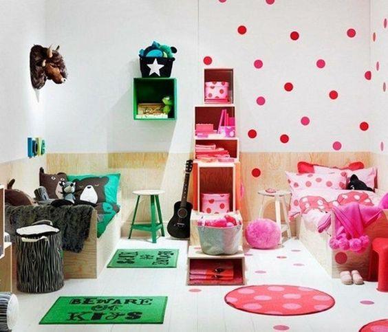 Ideas para habitaci n compartida de ni a y ni o 17 for Ideas para decorar habitacion compartida nino nina