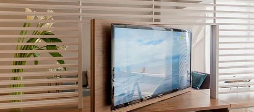 Ideas para tv con panel giratorio
