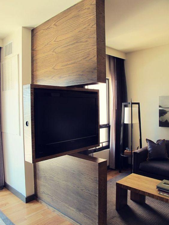 Ideas para tv con panel giratorio (20) - Curso de Organizacion del ...