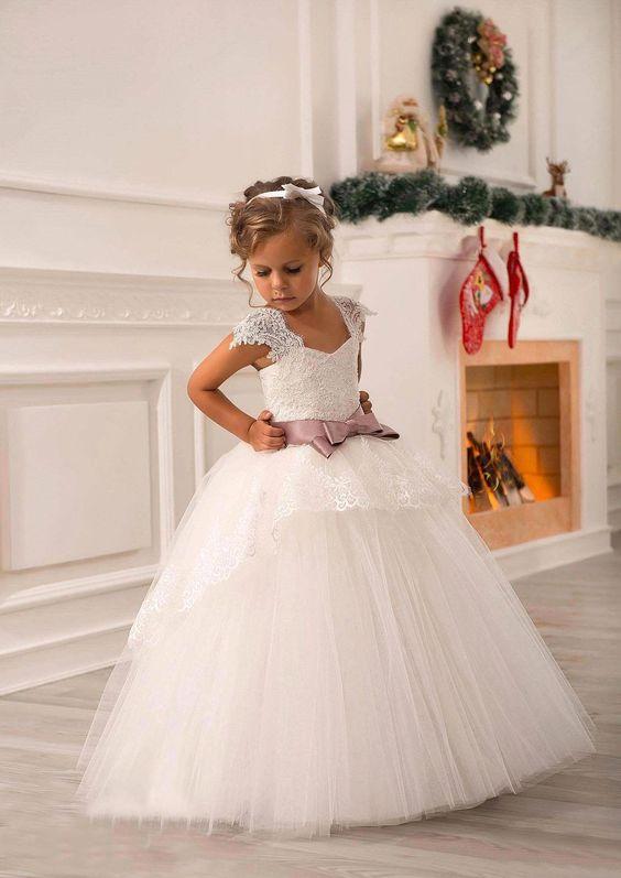 Vestidos de fiesta para una nina