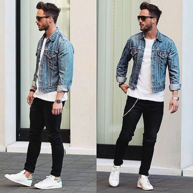 Outfits de mezclilla para hombre (4)