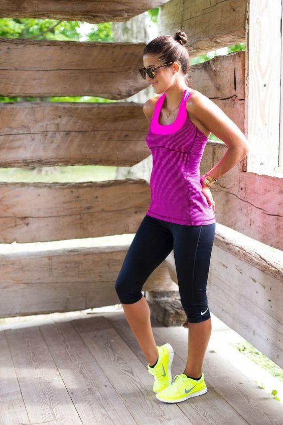 Outfits deportivos color neon (10) - Curso de Organizacion del hogar