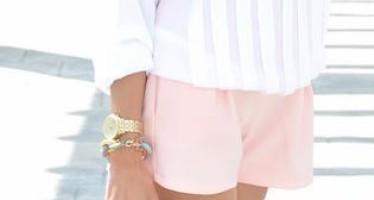 Outfits en color rosa blush
