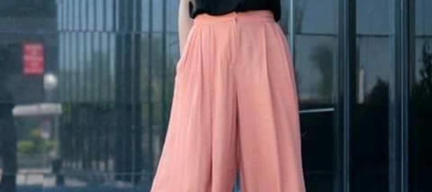 Pantalones estilo palazos