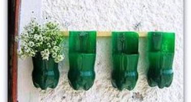 Recicla y decora con botellas de plastico