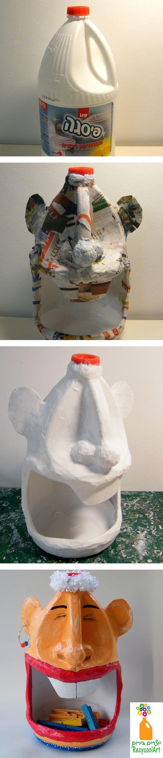 Recicla y decora con botellas de plastico 4 curso de - Recicla y decora ...