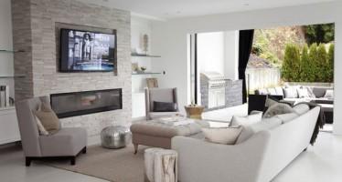 Salas de tv para espacios grandes