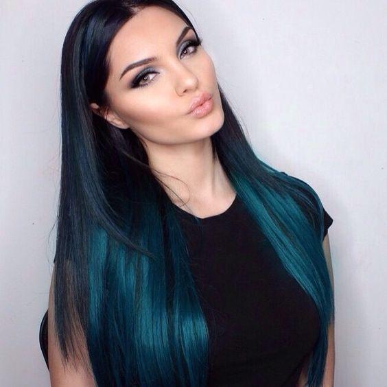 Tonos de cabello verde oscuro (4) - Curso de Organizacion del hogar ... 7817acf91cb3