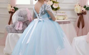 Vestidos para niñas estilo princesa