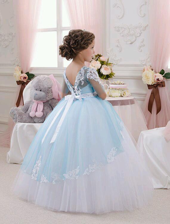 Vestidos Para Niñas Estilo Princesa Curso De Organizacion