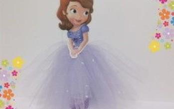Centros de mesa de princesas con vestidos de tul