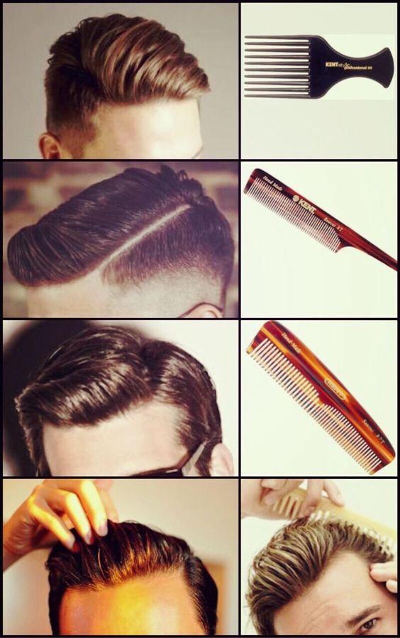 cortes de cabello para hombre y como peinarlo