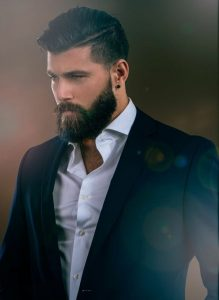 cortes de cabello para hombres franja ondulada + alto desvanecimiento - wavy fringe + high fade (2)