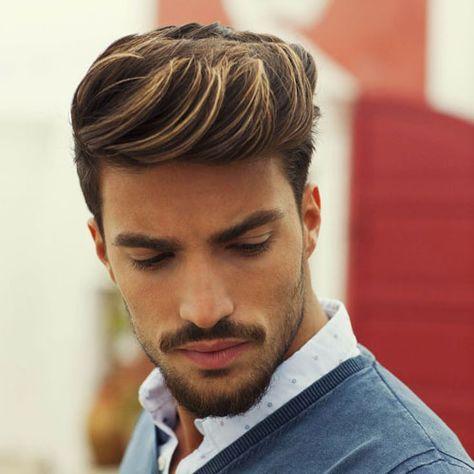 cortes de cabello para hombres franja ondulada + alto desvanecimiento - wavy fringe + high fade (3)