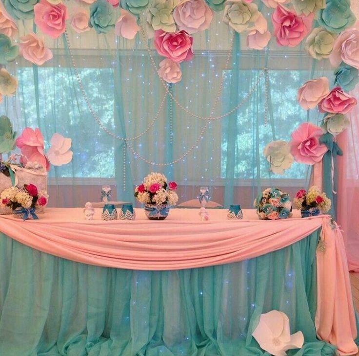 Decoracion con flores de papel 5 curso de organizacion for Papel de decoracion