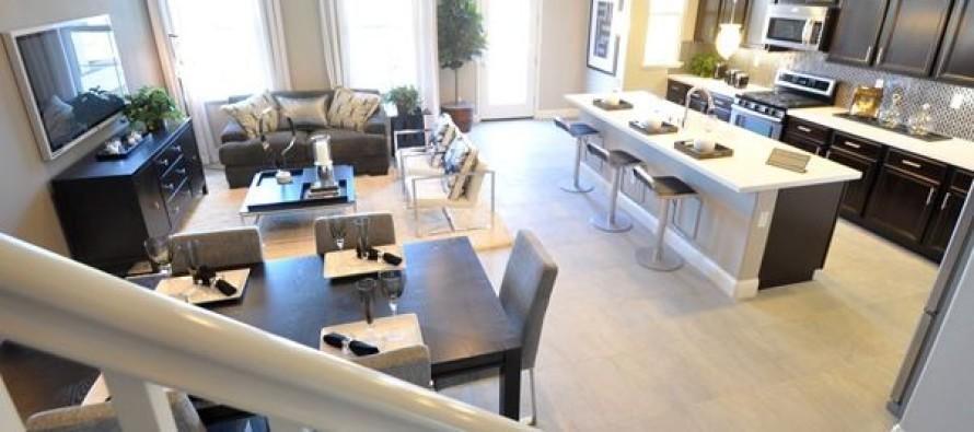 Sala comedores modernos sala moderna elegante y lujosa for Casa con cocina y comedor juntos