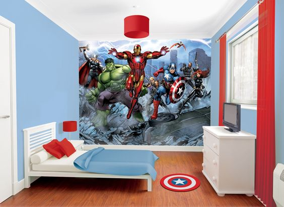 Decoracion de recamaras para ni os con super heroes for Decoracion para ninos