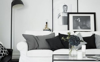 Decoracion de interiores en blanco y negro
