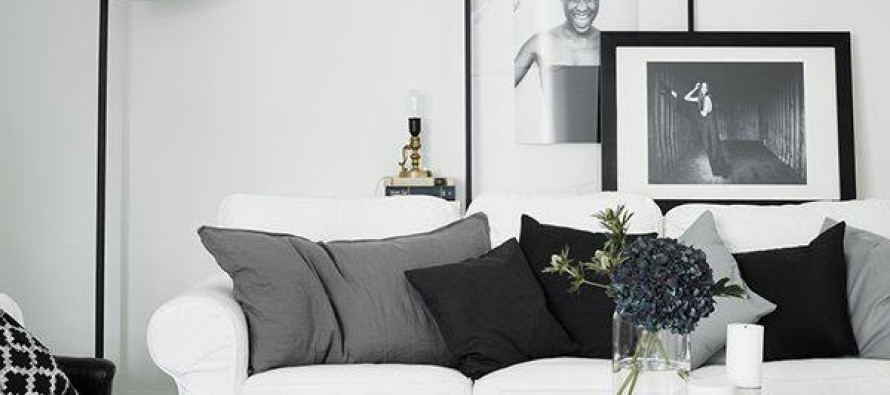 Decoracion de interiores en blanco y negro curso de - Decoracion blanco y negro ...