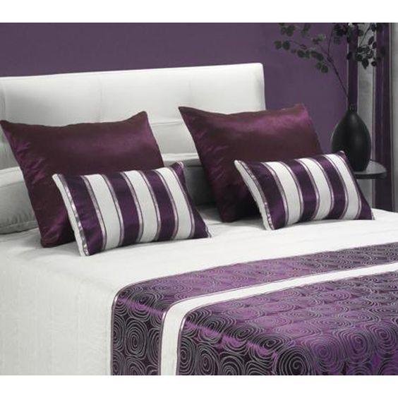 Ideas para decorar tu cama con cojines 8 curso de - Decorar cama con cojines ...